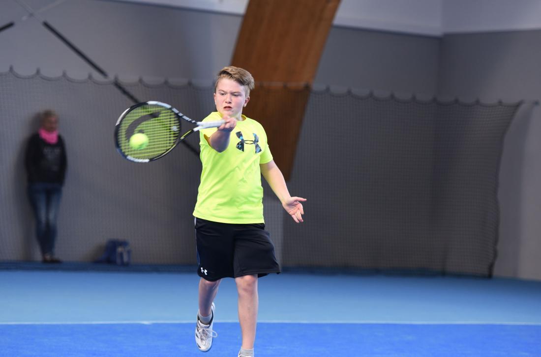 Jonas Feichtenhofer vom ESV Bruck zog in Wien ins Finale ein