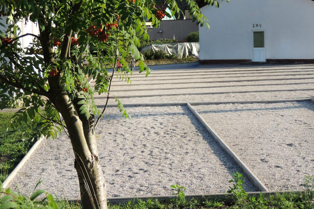 Die neue Petanque-Anlage des ASKÖ ESV St. Veit/Glan.