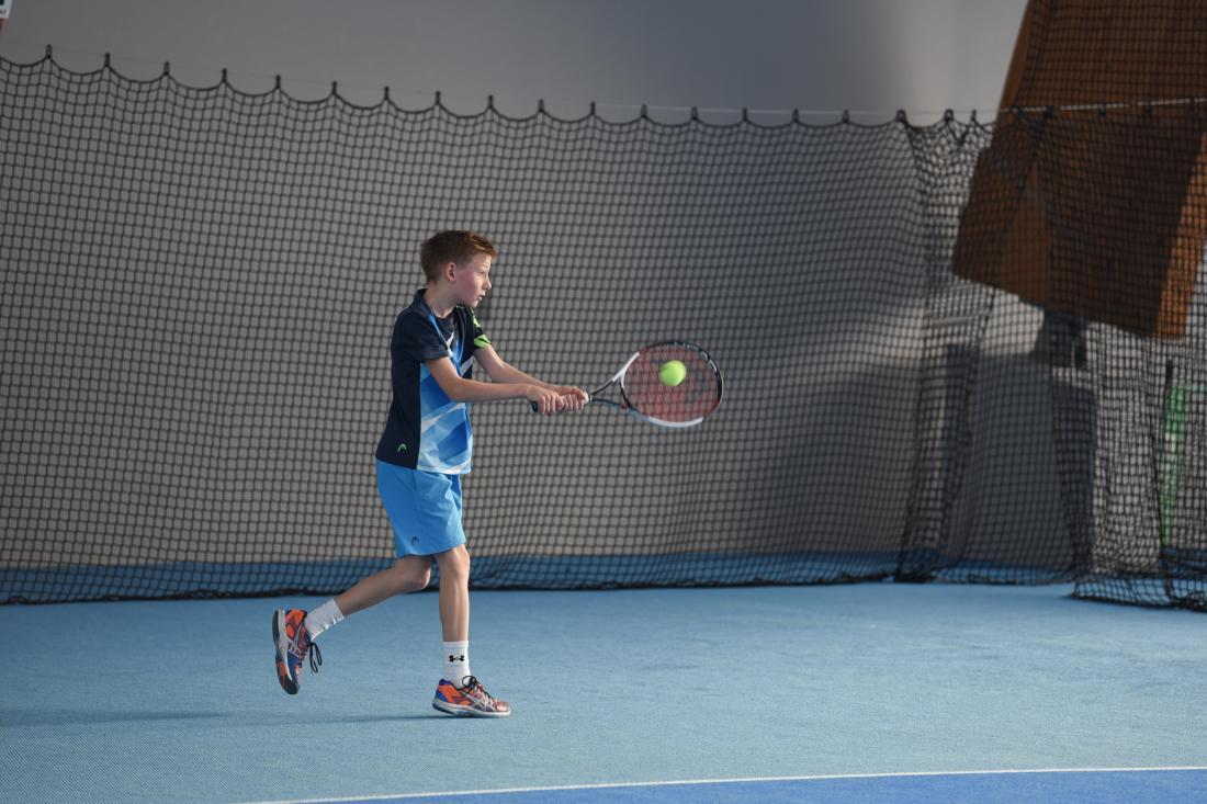 Heimsieg für Konstantin Feiel (ESV Bruck) beim ersten Kids-Wintercup in Bruck.