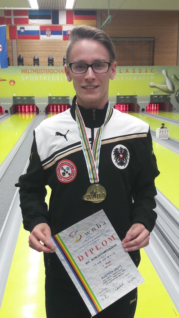 Team-Weltmeister Marco LINZER (ESV Leoben)